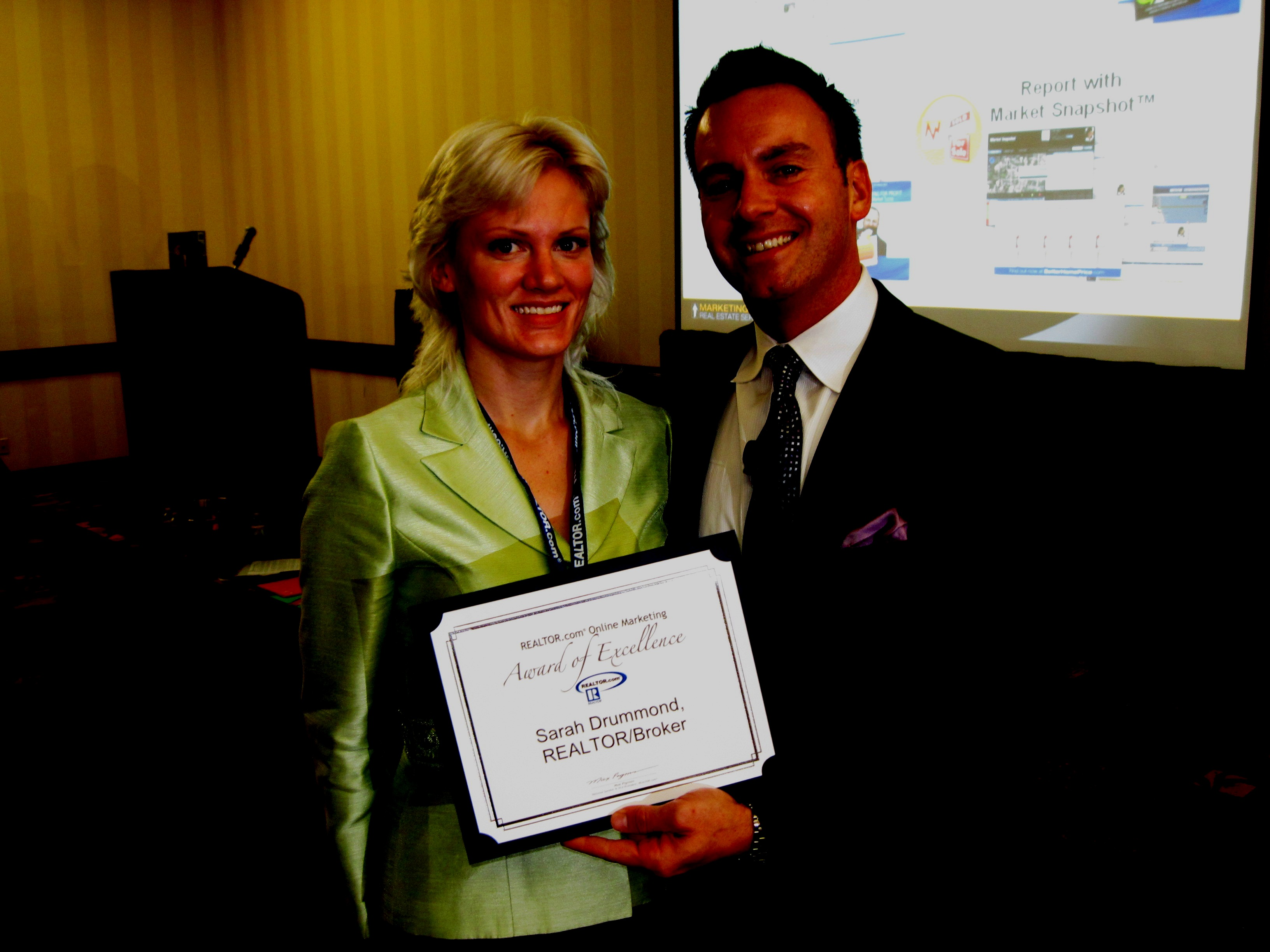 Sarah Drummond Recognized for Internet Marketing Excellence